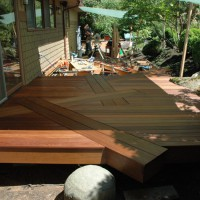 The same deck, near completion; note the angles