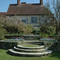 Inspiration comes from many sources, including the classics: here, the famous Lutyens steps at Great Dixter