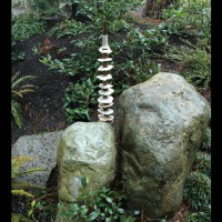 A totem, again by Marcia Donahue