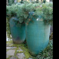 Containers can be planted to last year-round: a Bainbridge Island display