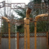 Whimsy and play at work in this Mercer Island garden