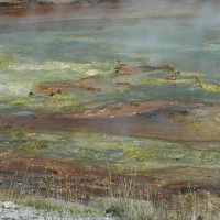 Color combinations by nature, Yellowstone National Park